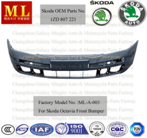 Flexible Auto Front Bumper for Skoda Octavia From 2004-2ND Generation (OEM parts No.: 1ZD 807 221) pictures & photos