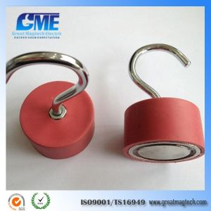 Heavy Duty Decorative Industrial Cup Neodymmagnet Magnetic Ceiling Coat Hooks pictures & photos