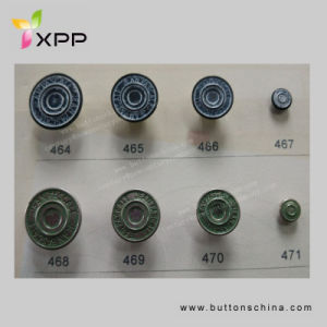 15mm New Style Glossy Metal Button with Logo Button pictures & photos