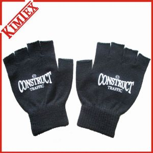 Warm Fingerless Glove/Acrylic Knitted Jacquard Winter Glove pictures & photos
