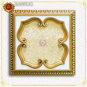 Banruo Gold Artistic Ceiling Decorations for Living Room Medallion pictures & photos