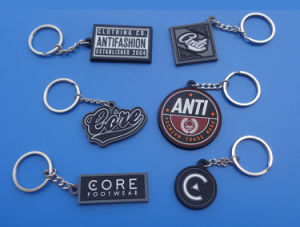 Series Soft PVC Keychain Company Logo Keychains Charms pictures & photos