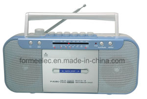 Portable Cassette Recorder Cassette Player with FM MW Sw Radio pictures & photos