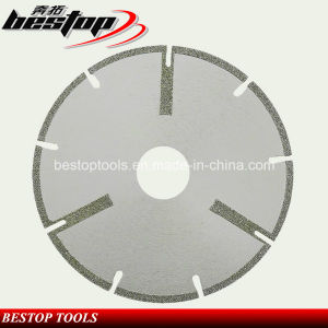 Electroplated Diamond Cutting Wheel Saw Blade for Marble pictures & photos