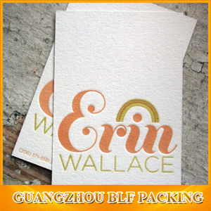 Cotton Paper Colored Embossed Business Cards pictures & photos