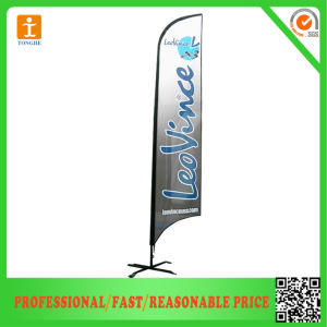 Custom Outdoor Fabric Teardrop Banner for Advertising pictures & photos