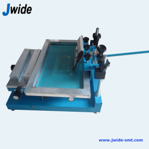 Jw-3040 Low Cost Manual PCB Printing Machine / Screen Printing pictures & photos