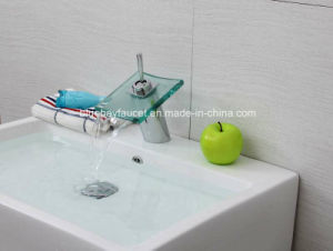 Deck Mounted Brass Wash Basin Mixer Tap pictures & photos