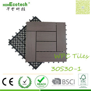 OEM WPC Supplier Top Composite Flooring Brand 300mm Tiles pictures & photos