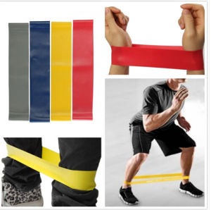 Latex Exercise Band/Fitness Band/Yoga Band/Stretch Band/Resistance Band pictures & photos