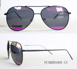 New Design Coated Lenses Special Pilot Metal Sunglasses for Unisex pictures & photos