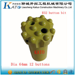 Spherical and Ballistic Hard Button Bit pictures & photos