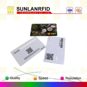 Low Cost 125kHz Em4001 Em4200 Tk4100 T5577 Hitag 1 Hitag 2 Em4305 RFID Smart Card with Magnetic Stripe (Free samples) pictures & photos