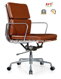 Eames Computer Swivel Office Leather Aluminum Chair (RFT-B01) pictures & photos