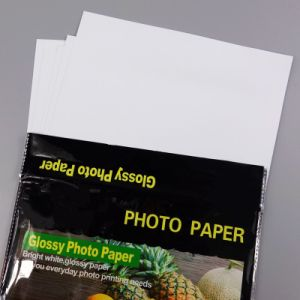 Double Side Glossy Cast-Coated Inkjet Photo Paper pictures & photos