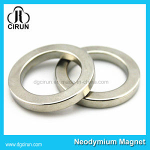 Differnet Size Rare Earth Neodymium Ring Magnets pictures & photos