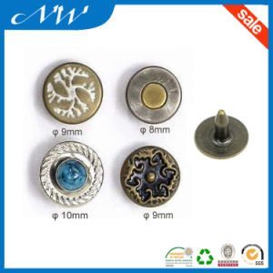 Factory Made Round Shape Metal Brass Rivet