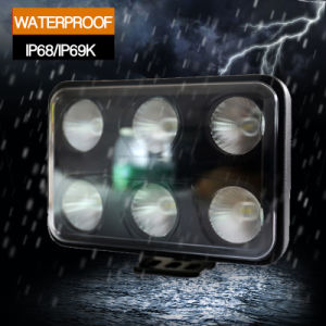 60W LED Work Light (4X6inch, Waterproof IP69k) pictures & photos