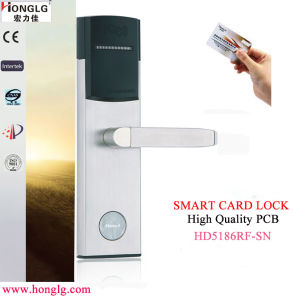 304 Stainless Steel Keyless RF Card Door Lock (HD5186) pictures & photos