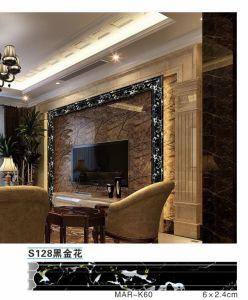 Photo and TV etc Wall Fram Moulding Marble Profile Hollw Wrapped Marble Foil pictures & photos