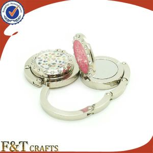 Promotional Bag Hook Hanger with Diamond for Wholesale pictures & photos
