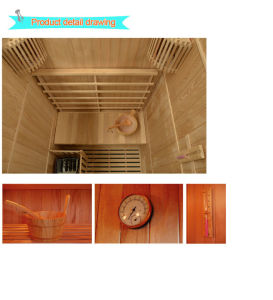2017 Traditional Steam Sauna for 2 Person-E2 pictures & photos