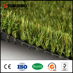 Hot Selling PPE Decorative Olive Artificial Grass Carpet Mat pictures & photos