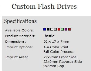 Custom Plastic USB Flash Drive with OEM Logo (ALP-002U) pictures & photos