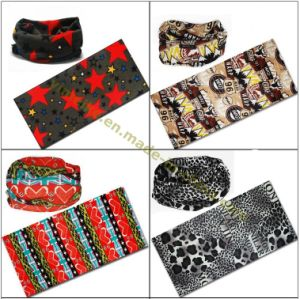 2015 Top Fashion Multifuntional Acrylic Printed Head Scarf pictures & photos