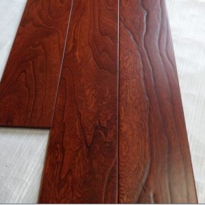Antique Embossed Multi-Layer Elm Engineered Wood Flooring