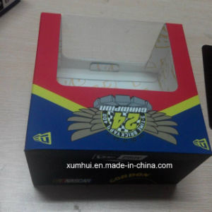 Soft Touch Paper Packaging Color Hat Box PVC Window