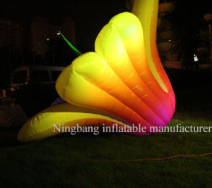 Custom Make Decoration Inflatable Lily Flower pictures & photos