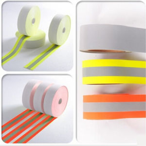 Good Quality Elastic Warning with Reflective Tape pictures & photos