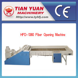 Nonwoven Pet Fiber Opening Machine (HFK-2000) pictures & photos