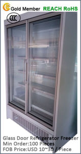 Glass Door Refrigerator Freezer