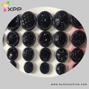 Black Color Fashion Polyest Coat Sewing Button pictures & photos