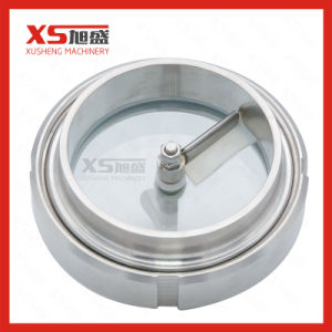 Food Grade Stainless Steel Tank Sight Glass with Wiper pictures & photos