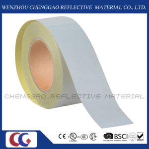 5cm*45.7m High Quality Road Sign Self Adhesive Reflective Tape (C1300-OW) pictures & photos