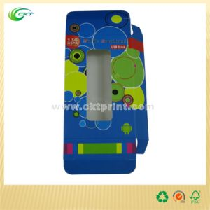 Cmyk Printing Packaging Box with Transparent Window (CKT-CB-711) pictures & photos