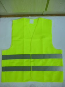 High Visibility Reflective Safety Vest En ISO20471 (DFV1001) pictures & photos
