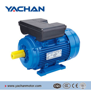 CE Approved Ml Series with Double Capacitors Aluminum Body Single Phase Electric Motor pictures & photos