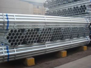 BS1387 En10255 ASTM A53 B Hot Dipped Galvanized Steel Pipe, Gi Pipes, Threaded with Socket, Grooved pictures & photos