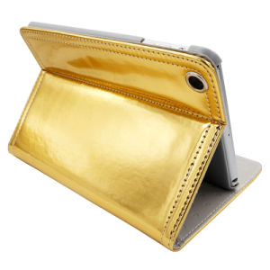 Bling Big Eyes Leather Cases with Angle Adjust for iPad pictures & photos