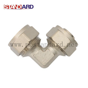 Male Compression Elbow Pex Fitting pictures & photos