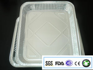 Alloy 8011-O 130 Microns Durable and Disposable Aluminum Foil Tray pictures & photos