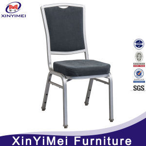 Modern Hotel Restaurant Wedding Banquet Dining Metal Aluminum Chair (XYM-L43) pictures & photos