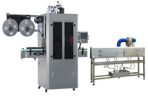 Rotary High Speed Glass / Plastic Bottle Capping Machine Shrink Sleeve Labeling Machine pictures & photos