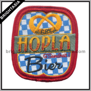 Hot Sale Embroidery Patch for Customer Design Logo (BYH-101115) pictures & photos