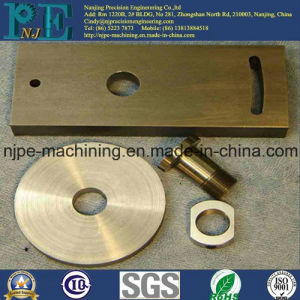 High Precision Machining Custom Brass Plate pictures & photos