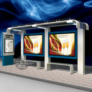 Outdoor Double Side Static Bus Shelter and Kiosk Light Box pictures & photos